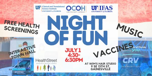 night of fun banner