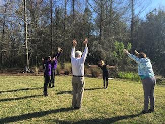 Yoga at UF HealthStreet