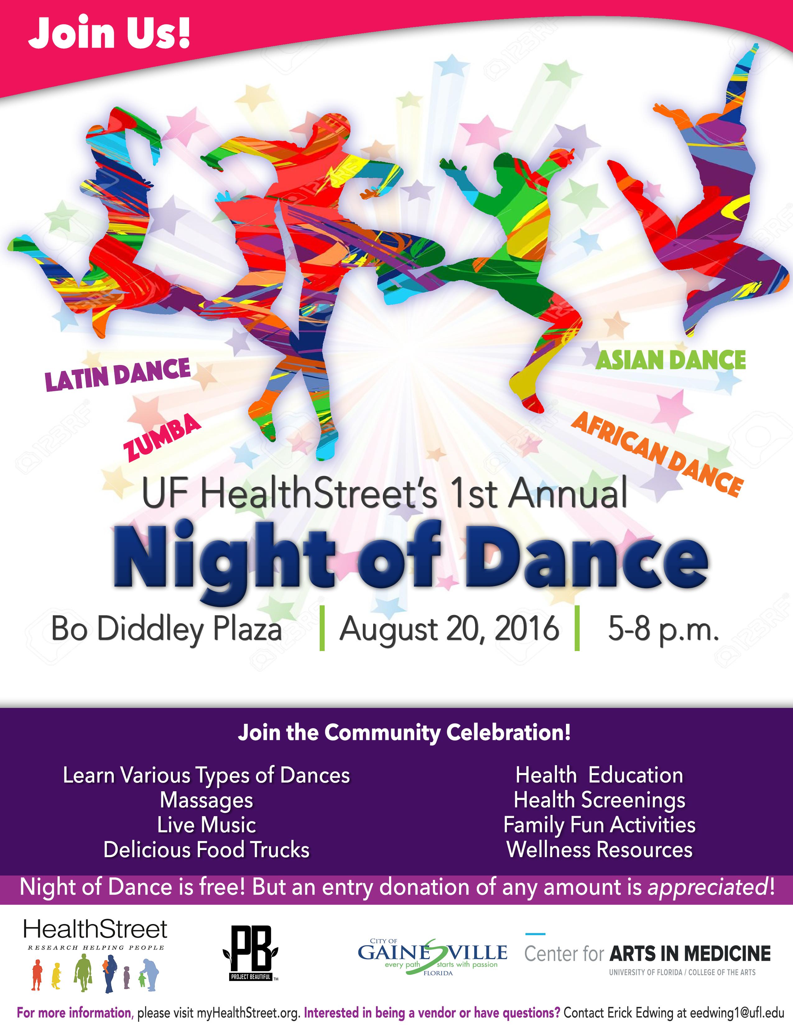 Night of Dance Flier
