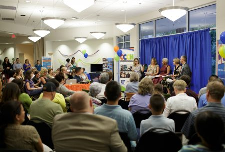 HealthStreet, a community-engaged research initiative at the University of Florida, and the UF College of Nursing are hosting the an Our Community, Our Health event (OCOH) on the evolving role of nurses in health care. This town hall meeting facilitates two-way communication between the community and researchers. We share ideas about priorities for health research and ways to communicate research findings and blends ideas for research from multiple stakeholders across the country.
