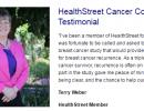 HealthStreet Cancer Corner Testimonials