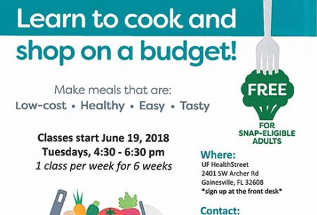 Learn to cook and shop on a budget.