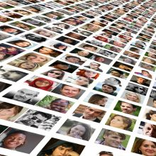 Diverse Crowd of faces