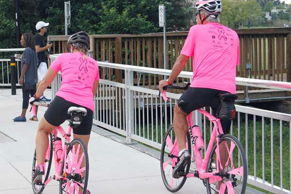 The Pink Pumpkin Pedal Off at the University of Florida