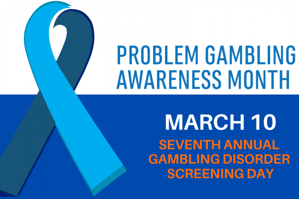Gambling Day Screening promotion with date March 10