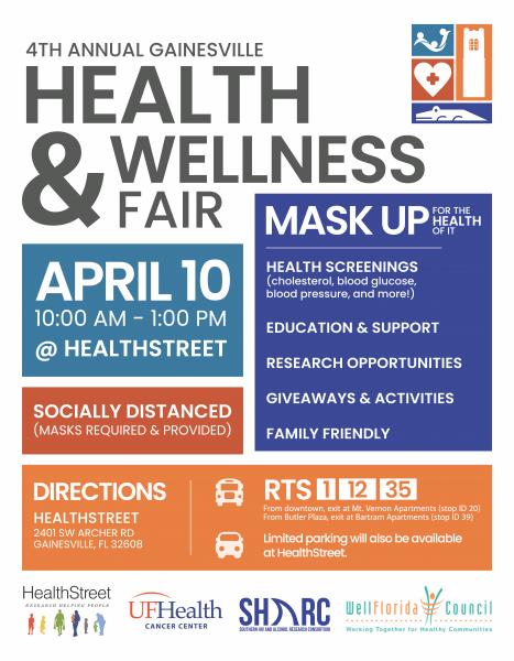 Health Fair April 10th